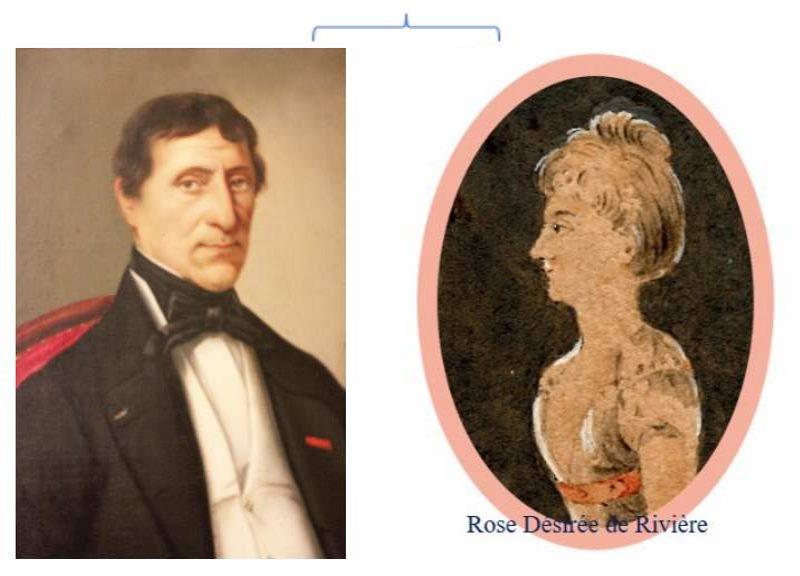 Joseph et Désiree de Riviere
