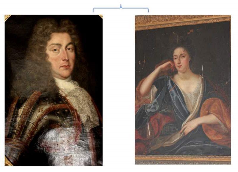 Louis Rene I et Julienne de Riviere