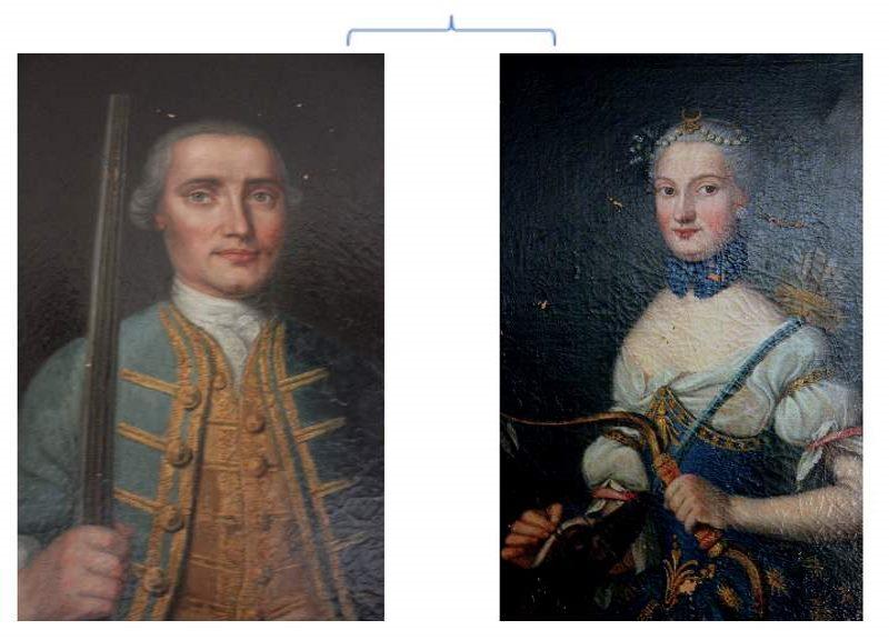 Louis Rene II et Genevieve Agnes de Riviere